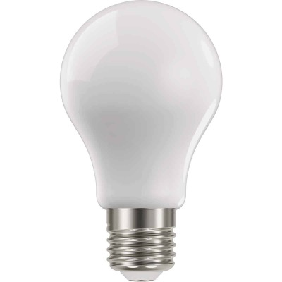 Satco Nuvo 75W Equivalent Warm White A19 Medium Frosted LED Light Bulb (4-Pack)