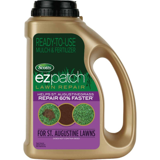 Scotts EzPatch For St. Augustinegrass 3.75 Lb. 85 Sq. Ft. 2-0-0 Lawn Fertilizer & Mulch